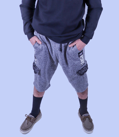 R & R Pocketed Sweat Shorts