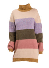 Load image into Gallery viewer, Color Block Sweater Tunic