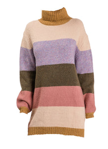 Color Block Sweater Tunic