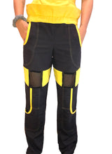 Load image into Gallery viewer, Yellow Ranger Mesh Pant