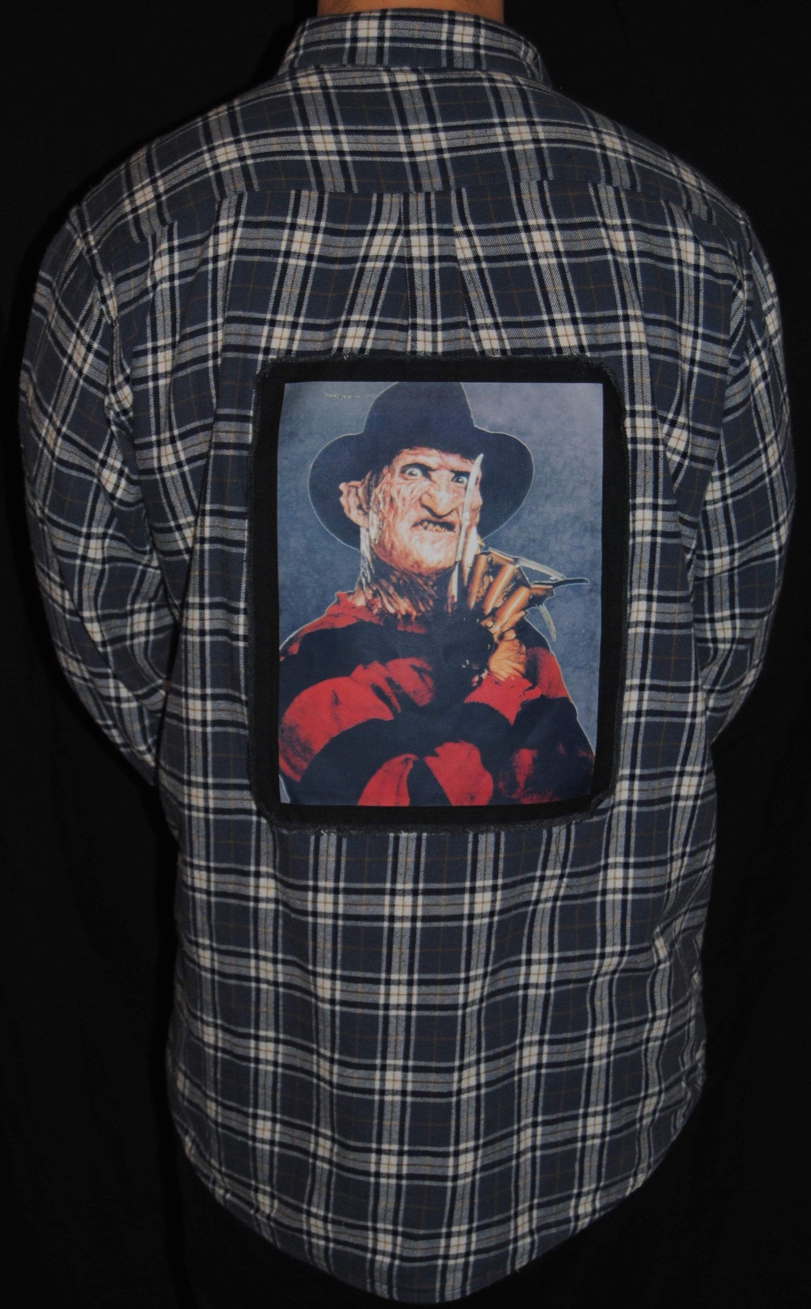 Freddy Krueger A Nightmare on Elm Street Flannel
