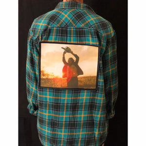 Texas Chainsaw Massacre Horror Flannel