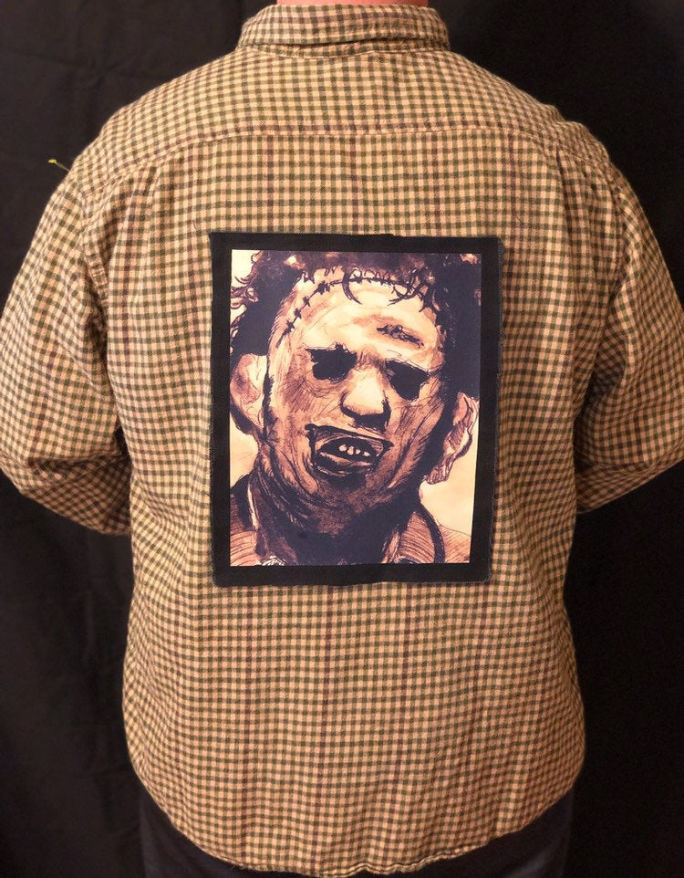 Texas Chainsaw Massacre Leatherface Flannel