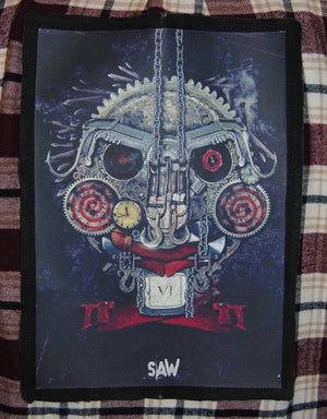Jigsaw Saw Flannel
