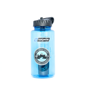 Nalgene OG Bundle | Water Filtration Bottle + 1 Urban Replacement Filter