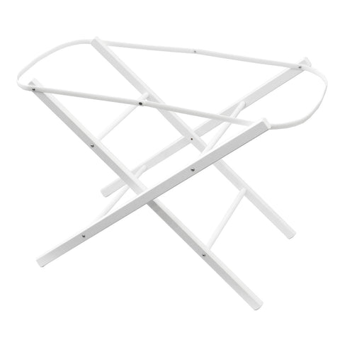 Moses Basket Folding Stand - White