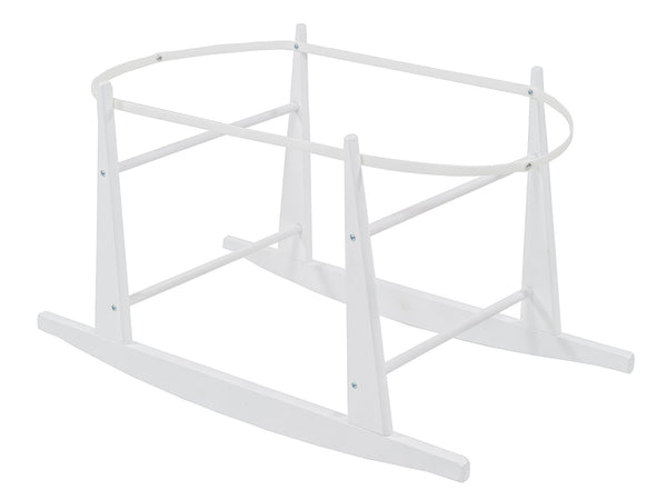 Moses Basket Rocking Stand - White