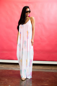 Pinapple Express Maxi Dress