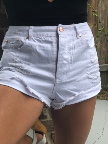 Doll White Shorts