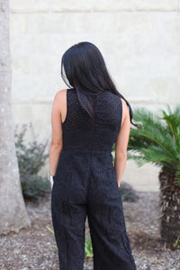 Lace To Impress Jumpsuit