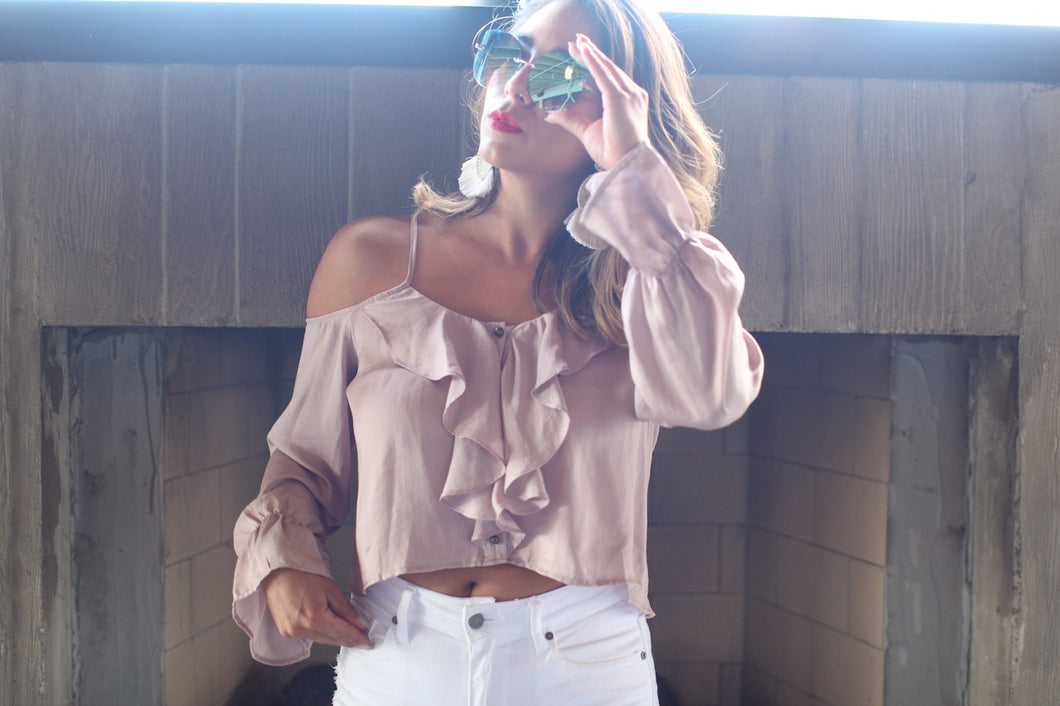 Crazy For You Blush Top