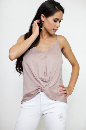 Layla knot Top
