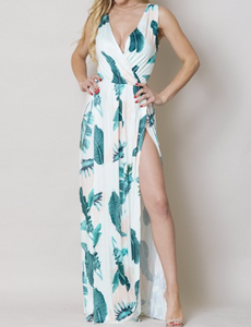 Chase The Feather  Maxi Dress