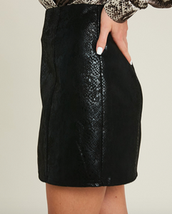 Rattle Of The Night Black Skirt