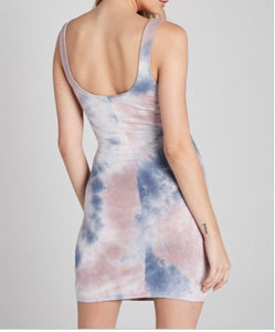 Under The Sun Tie Die Dress