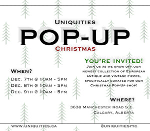 Christmas Pop-Up Shop