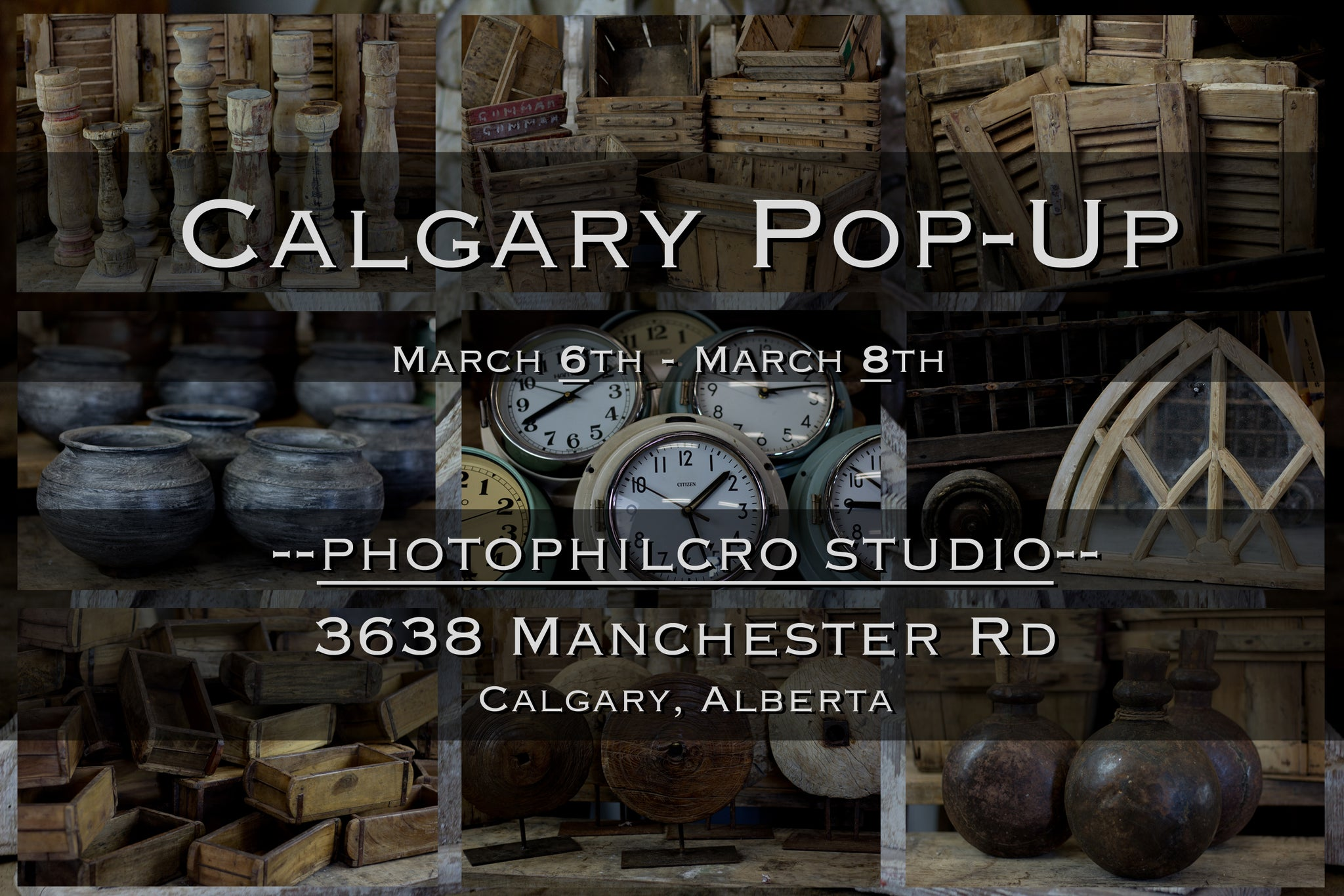 Calgary | Pop-Up | March 2020
