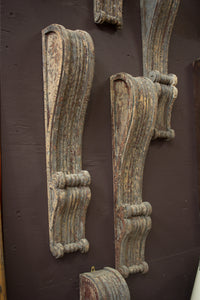 Georgian Carved Wood Brackets