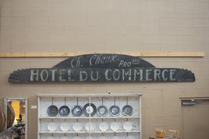 Vintage Hand-Painted Sign
