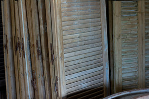 Pair of Large Antique Wooden Shutters