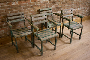 Set of Vintage Bistro Chairs