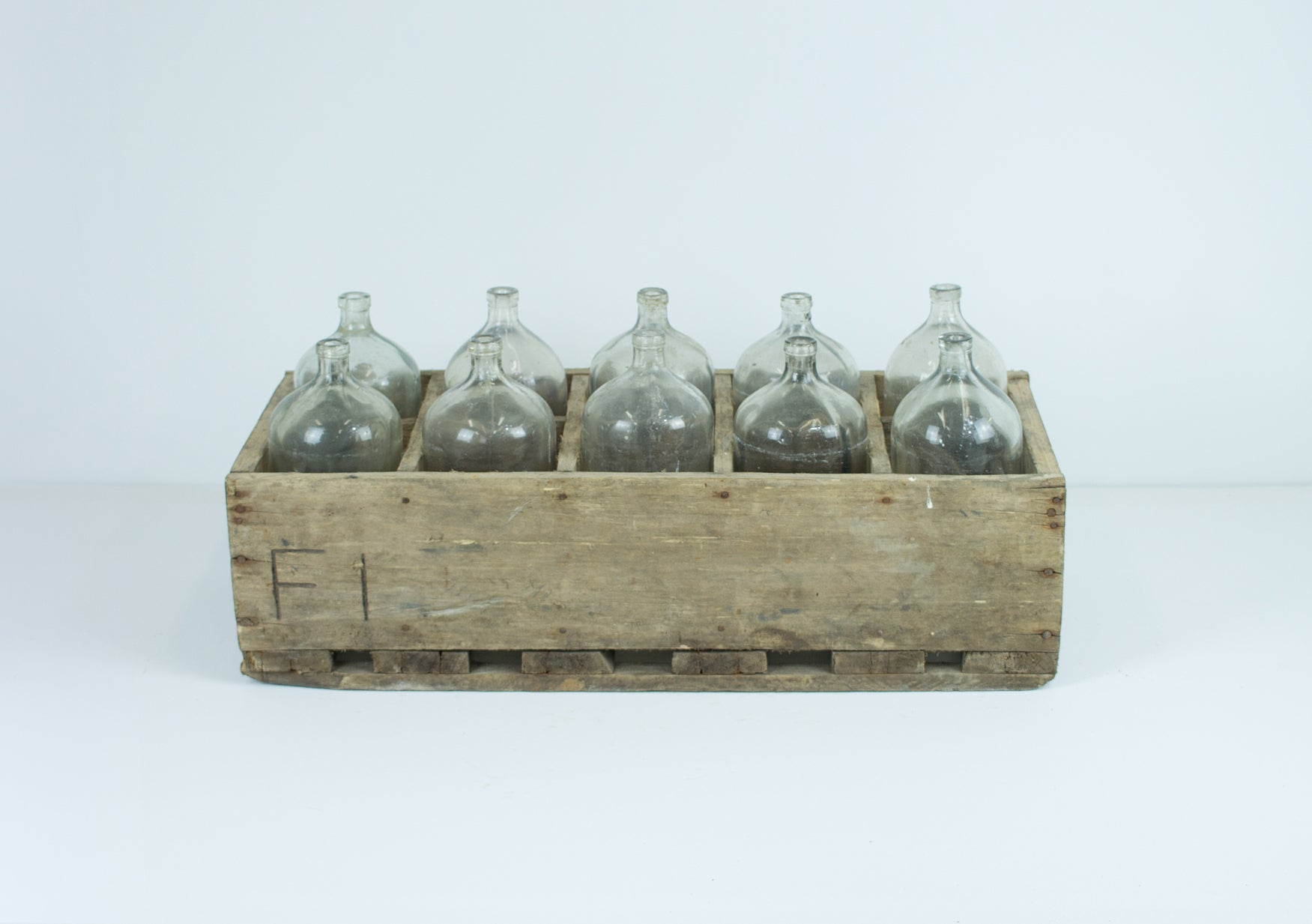 Set of 10 Seltzer Bottles