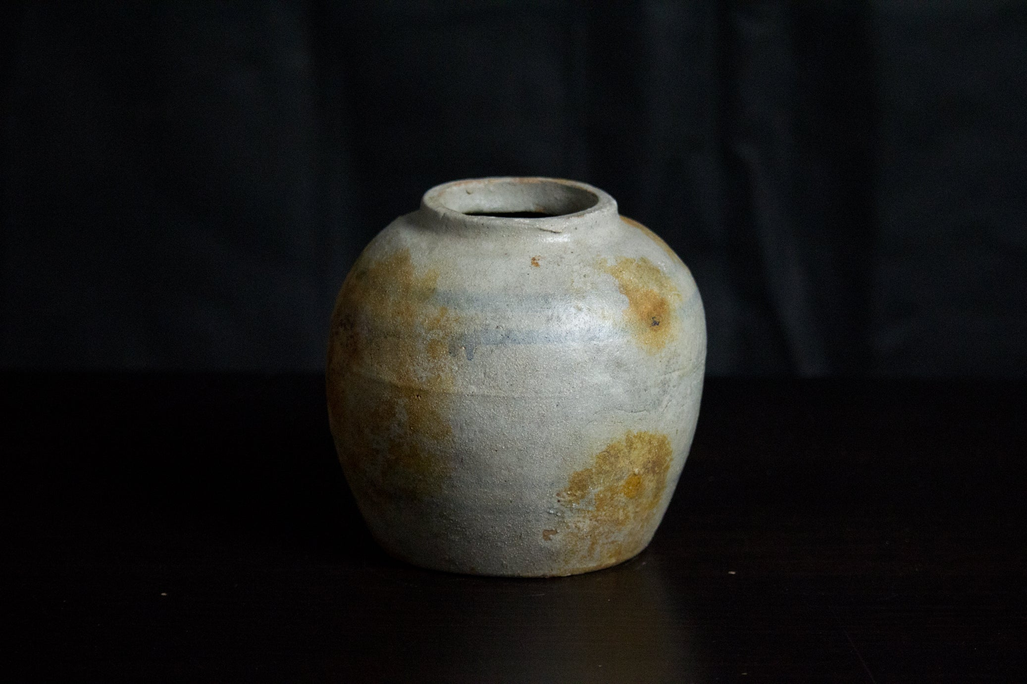Large Antique Ginger Jar