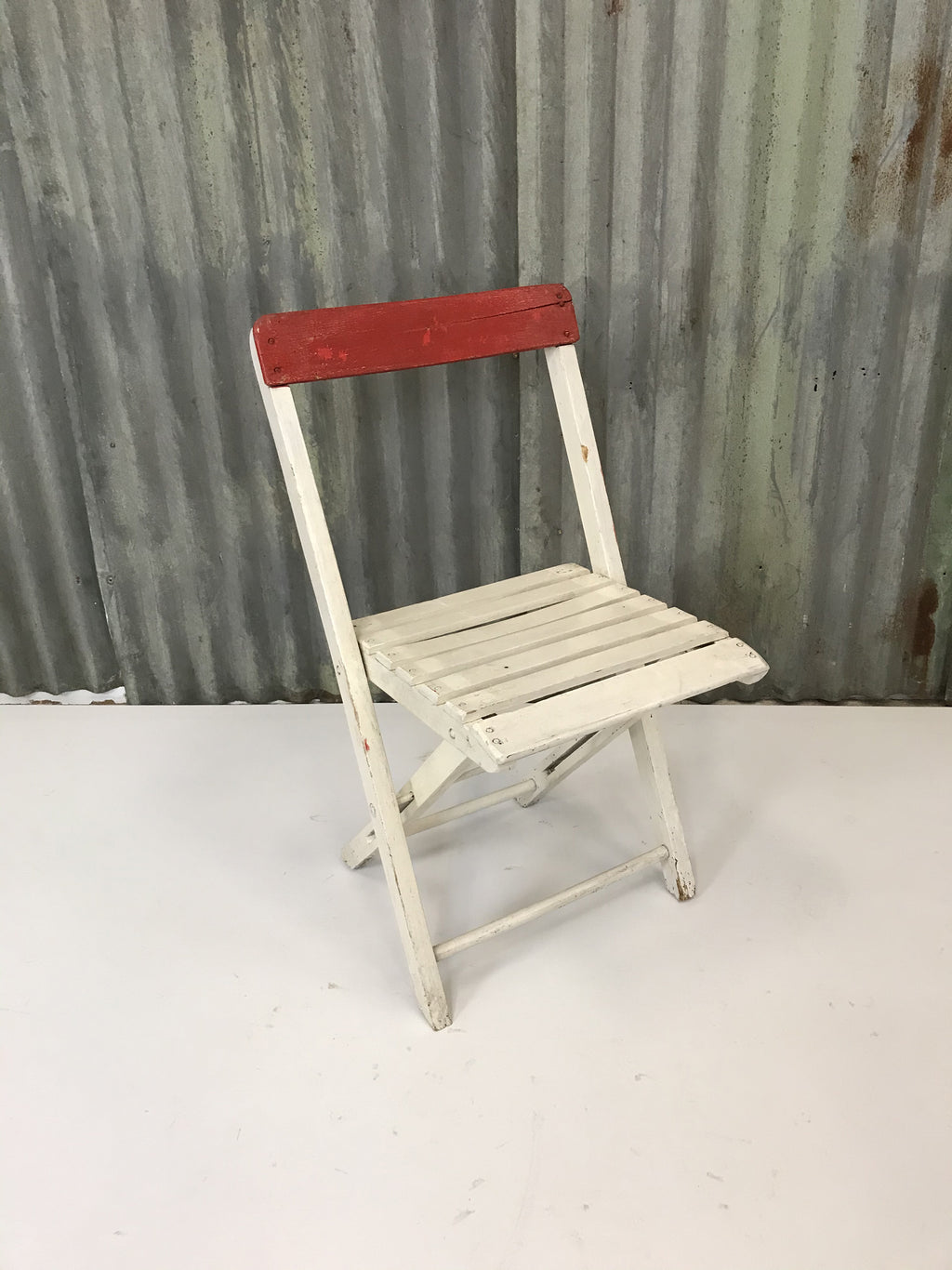 Vintage Painted Cafe Chair
