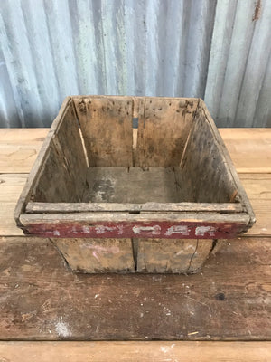 Vintage Wooden Grape Harvest Crates