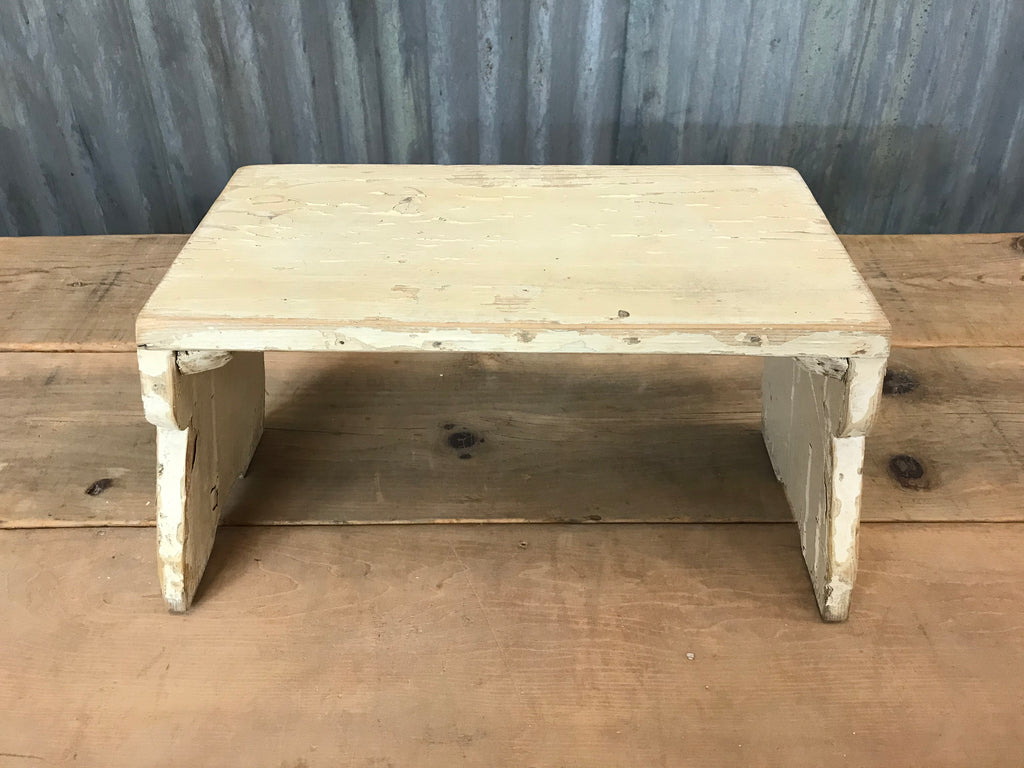 Antique Wooden Footstool