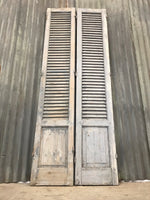 Pair of Antique Painted Shutters