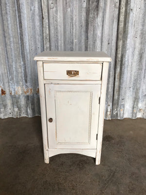 Petite Farmhouse Painted Cupboard