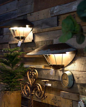 Large Farmhouse Metal Wall Sconce