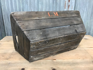 French Grape Harvest Crate