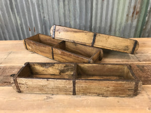 Antique Wood Double Brick Mould