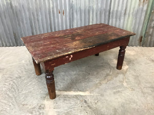 Antique Painted Coffee Table