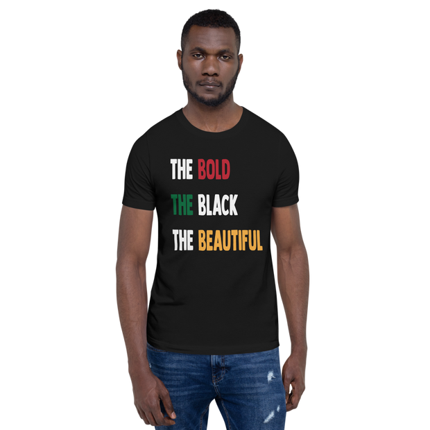 THE BOLD THE BLACK THE BEAUTIFUL