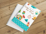 Personalize Notebook  (Colorful Adventures) - Spiral Notebook - Notes From the Road