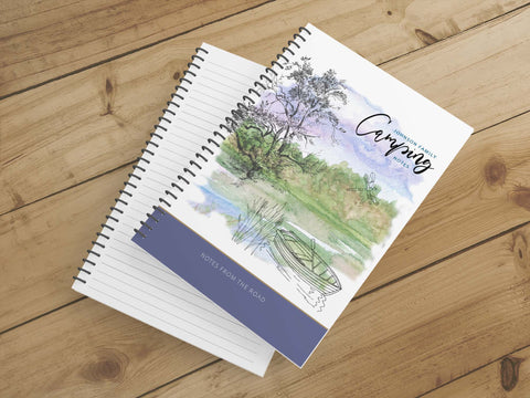 Personalize Notebook  (By the Lake) - Spiral Notebook - Notes From the Road