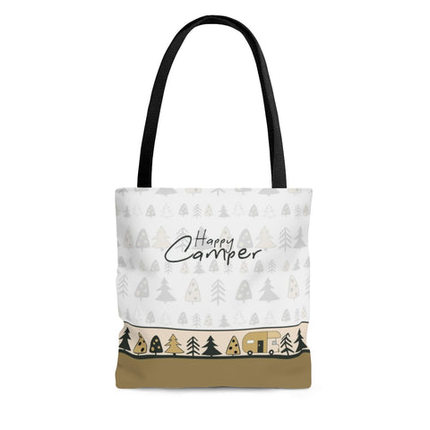 Trendy Trees Camping Tote Bag