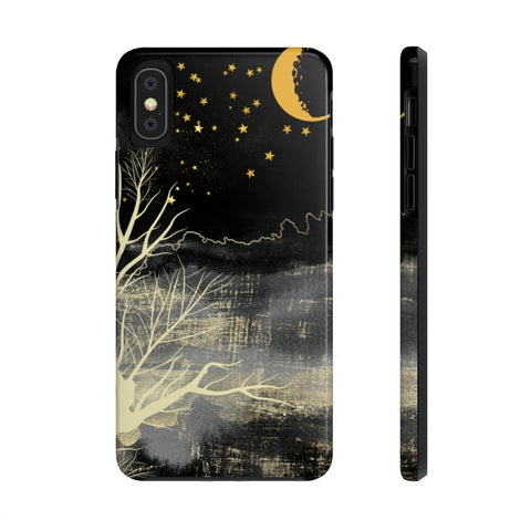 Over the Moon in Nature - Case Mate Tough Phone Cases