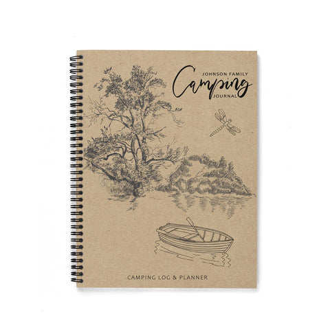 Camping Journal & Planner (Kraft Series #2)