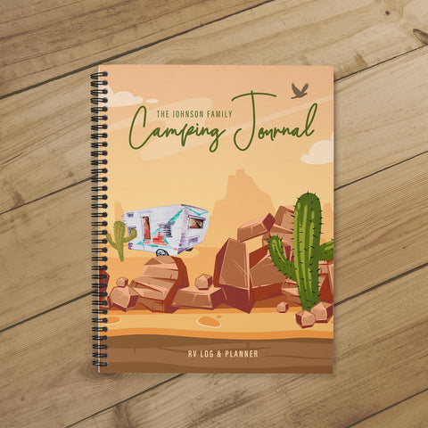 Camping Journal & Planner (Desert Travels)