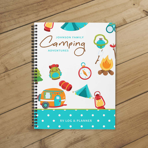 Camping Journal & Planner (Colorful Adventures)