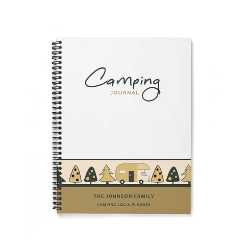 Camping Journal & Planner (In the Trees)