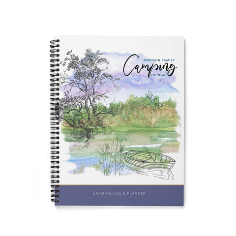 Camping Journal & Planner (By the Lake)