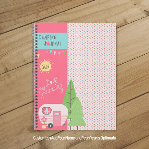 Camping Journal & Planner (Happy Glamping)