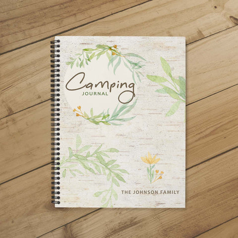 RV Log & Camping Journal (Spring) - Travel Planner