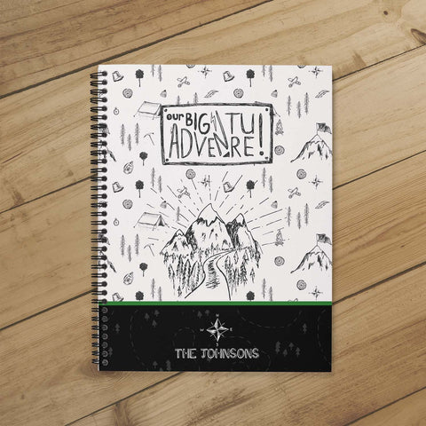 Camping Journal & Planner (Our Big Adventure)