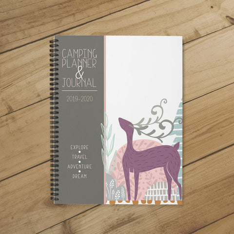 Camping Planner & Journal (Deer Run)